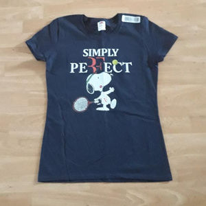 Simply Perfect Snoopy Custom Graphic Tee